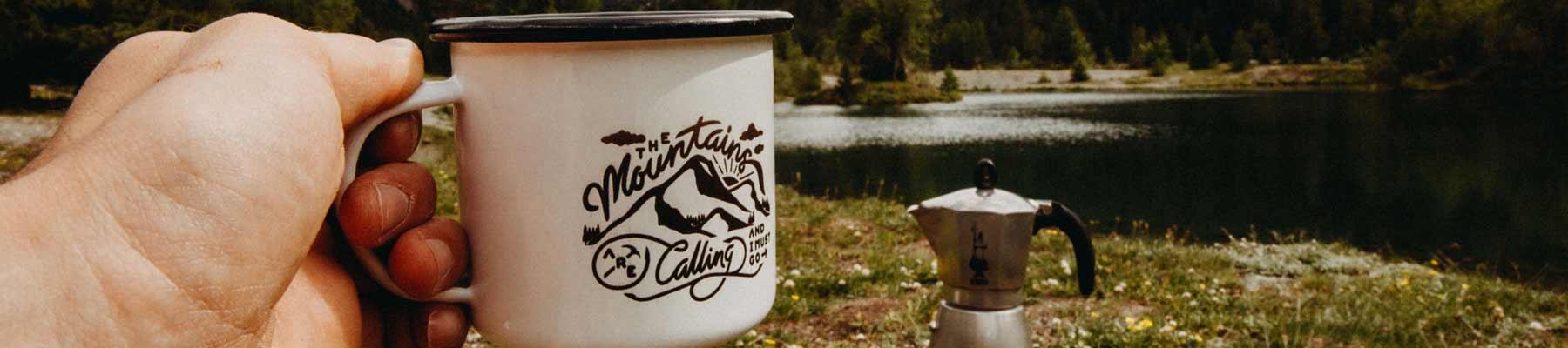 Kaffee Tasse Camping